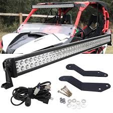 Maverick X3 Light Bar Wiring 42 Inches 240w Straight Led Light Bar With Wiring Kit And