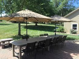 diy outdoor farmhouse table. 14 Person Farmhouse Table Diy Outdoor O