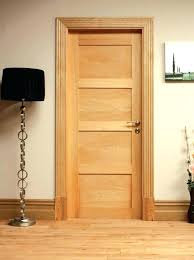 oak interior doors 4 panel shaker style oak door unfinished available as room setting for 4