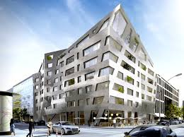 Daniel Libeskind's Funky Metallic Apartments Will Purify The Berlin New Apartment Complex Design Ideas