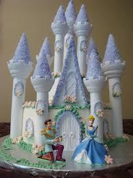 Disney Wedding Cake Topper Photos Cinderella S Castle Cake