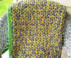Easy Crochet Afghan Patterns Simple Crochet Pattern Quick Easy Crochet Afghan Using Bernat Baby
