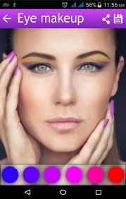 beautiful makeup editor apk screenshot