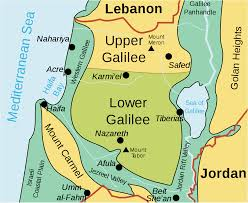 Image result for map of the jordan river in bible times