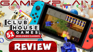 Clubhouse Games: 51 Worldwide Classics - REVIEW (Nintendo Switch) - YouTube