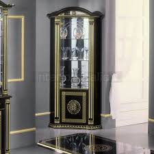 caesar italian corner display cabinet