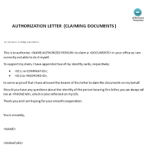 What Are Some Examples Of Authorization Letters To Process My