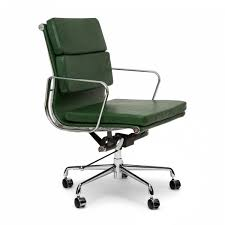 eames office chair ea208 soft pad group fixed low back replica source iconic designs vine green short back soft pad executive office chair
