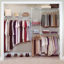 easy closet organization ideas for modern outlook with hanging rods and wall mounted shelf area simple r98 closet