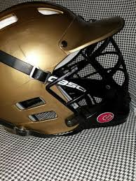 Cascade Clh2 Lacrosse Helmet Gold Black Adult One S