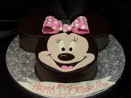 Minnie Mouse 1st Birthday Cakes Wedding Academy Creative Easy
