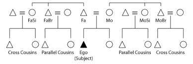 Parallel And Cross Cousins Wikipedia