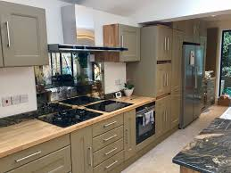 Eggshell Kitchen Cabinets Repainting Kitchen Cabinets Page 1 Homes Gardens And Diy