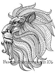 Small Picture 1079 best Adult ColouringAnimalsZentangles images on Pinterest