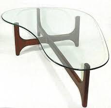 boomerang coffee table kidney shaped