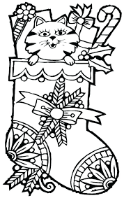 Christmas Coloring Pages Large Creativeinfotechinfo