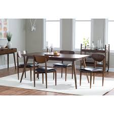 round dining room sets for 6. Ideas Of Dining Room Belham Living Carter Midcentury Modern Chair With Round Tables Sets For 6