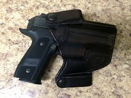 more on kydex this a 10 month old p229 on a leather holster since i got it carried iwb everyday