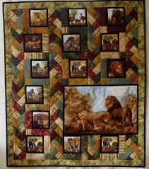 71 best Hunting Panel quilts images on Pinterest | Quilting ideas ... & African Quilt | Heather's Fabric Shelf Adamdwight.com