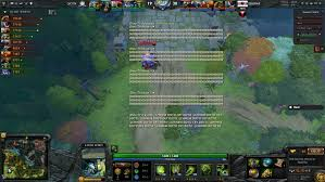 in game spectator chat is always on dota2