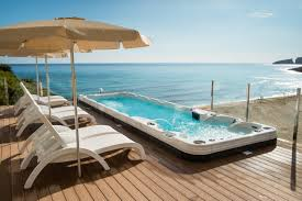 Outdoor Jacuzzi Exotic Outdoor Style Jacuzzi Spa Design Ideas Theydesign With