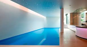 Basement pool in London Modern Pool New York by Design by