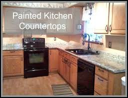 can you paint your kitchen countertops with painted kitchen for make amazing diy spray paint kitchen countertops 961