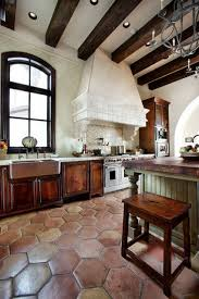 Rustic Spanish Kitchen Design Great Colonial Spanish Kitchen Decorating Ideas Rustic