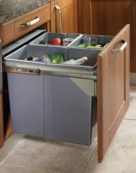 RECYCLE BIN PULL OUT KITCHEN WASTE BIN 600MM - 68 LTR (JC609M-3):  Amazon.co.uk: Kitchen & Home