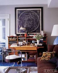 Decor for office Feminine Elle Decor 10 Home Office Ideas Best Design And Decorating For Home Offices