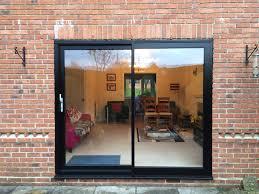mm mullion smart visoglide aluminium patio doors uk beautiful patio door lock