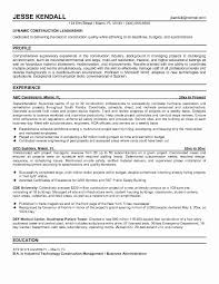 Free Construction Resume Templates Free Creative Resume Templates Construction Superintendent Resume