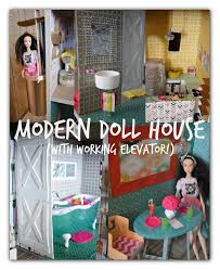 picture of trash to treasure barbie dream house