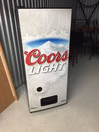 Coors Light Vending Machine Custom Coors Light Refrigerator For Sale In Riverview FL OfferUp