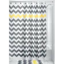 grey chevron shower curtains. Simple Grey Grey Chevron Shower Curtain Smart Ideas Yellow And  Gray Curtains Design White For