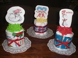 seuss baby shower centerpieces mini cake diaper cakes party supplies dr decorations ideas table city diy