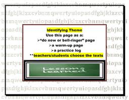or theme warm up or do now pages log bell ringer or