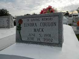Elnora Coulon Mack (1931-2002) - Find A Grave Memorial