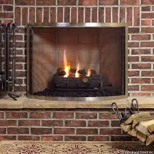 framed brushed pewter bowed single panel fireplace screen woodlanddirect com fireplace screens