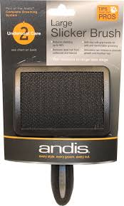 Andis Grooming Chart Details About Andis Company Andis Premium Slicker Brush Black Large