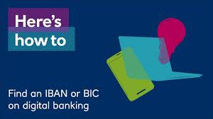 how to find your iban or bic on digital banking