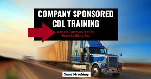 company sponsored cdl training the