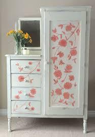 hand painted furnitureHand Painting Flowers on Furniture  Hometalk