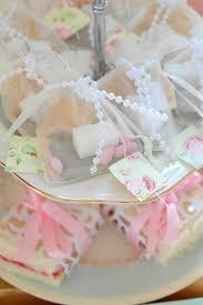 diy organza tea bag bridal shower favor shower favors bridal