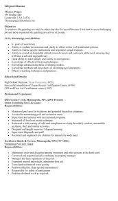Sample Lifeguard Resume Experience Resumes