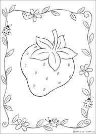 Small Picture Big strawberry coloring pages Hellokidscom