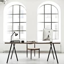 peaceful creative office space. big windows awesome table legs peaceful creative office space s