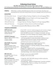 Sample Resume English Teacher Resume Template Download Mac Network