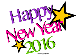 Small Picture Happy new year 2016 Coloring Page