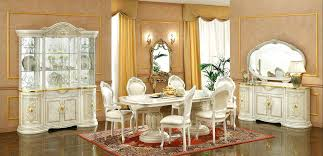 Italian glass furniture Office Furniture Italian Dining Table Sets New Classic Furniture Set For Sale Including Display Cabinets Glass Cabinets Dining Mobilerevolutioninfo Italian Dining Table Sets